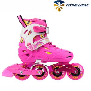 Rollers niños Extensible Flyinge Eagle S5S Junior Rosa